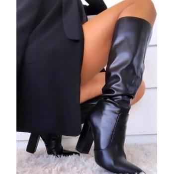 Stivali in eco pelle